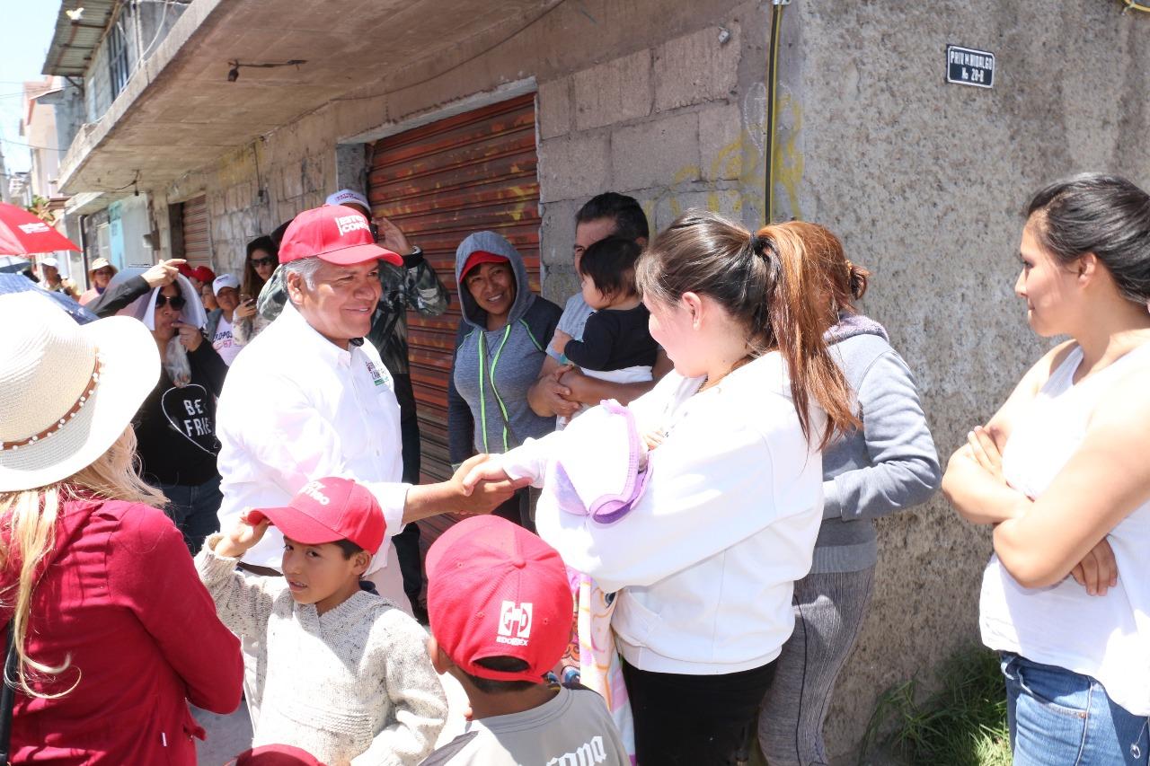 Campaña cercana y propositiva ofrece Fernando Zamora