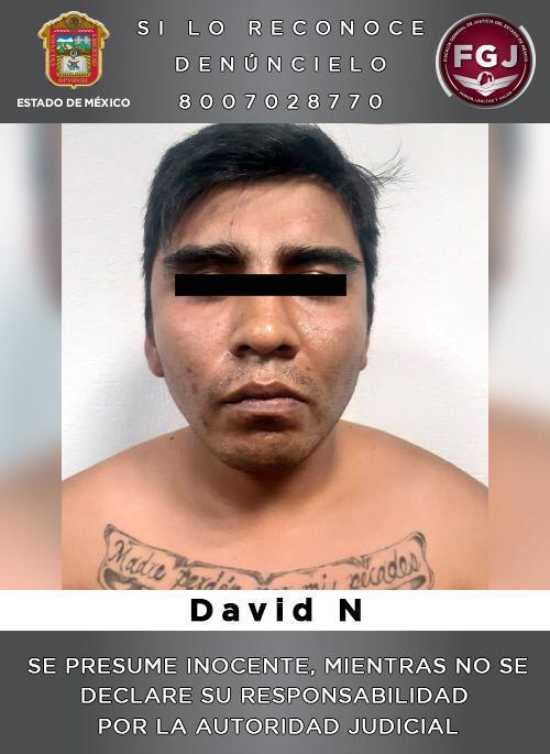 Detienen a sujeto identificado como probable distribuidor de droga y generador de violencia en la región de Huehuetoca
