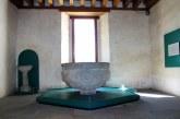 Conoce la pila bautismal del siglo XVI en el museo virreinal en Zinacantepec