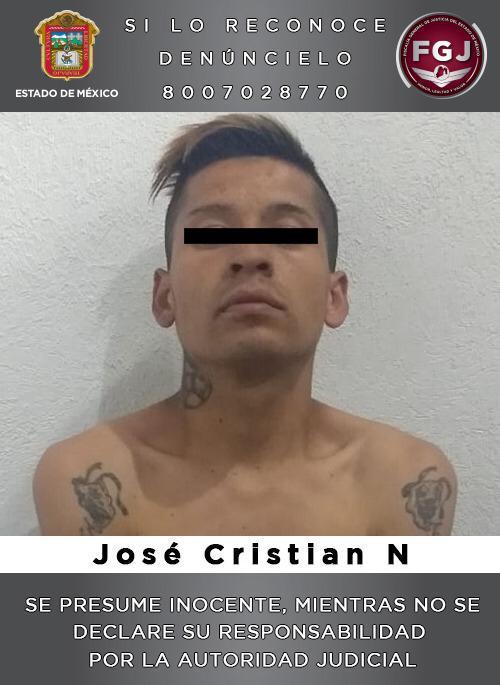 Detienen en Ecatepec a sujeto que habría asesinado a ex pareja sentimental de su novia