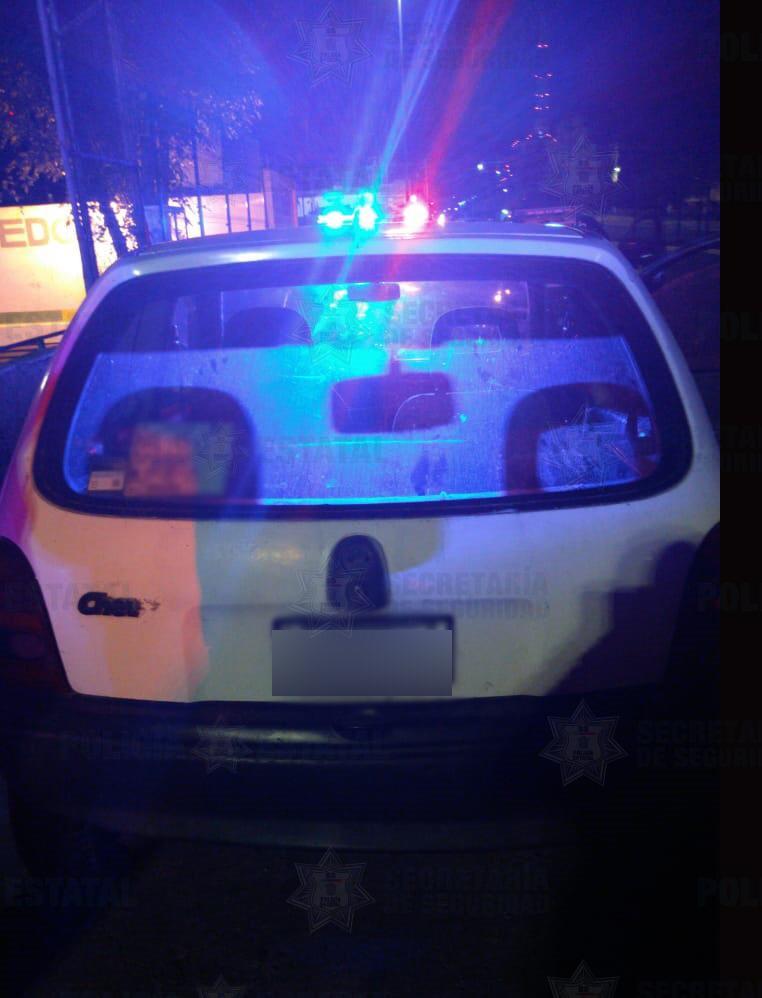 Sistema de arcos carreteros permite a policía localizar un vehículo con reporte de robo