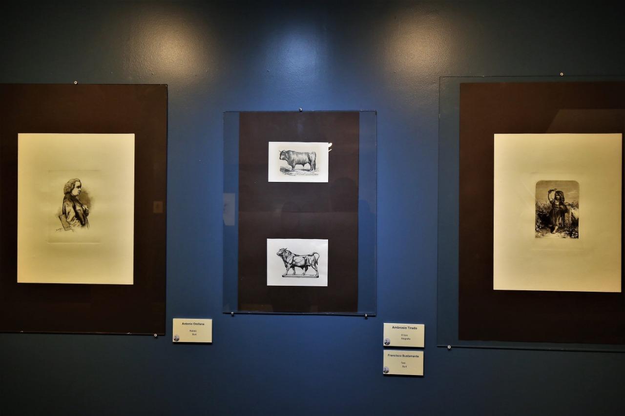 """Exponen """"de la academia a posada"""" en el museo de la estampa"""