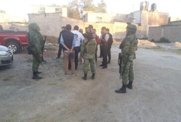 Deja operativo en Huehuetoca 11 personas detenidas