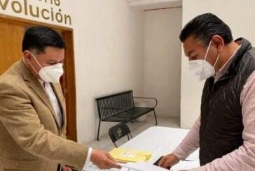Recibe Carta de Intención de aspirante del PRI Braulio Álvarez Jasso