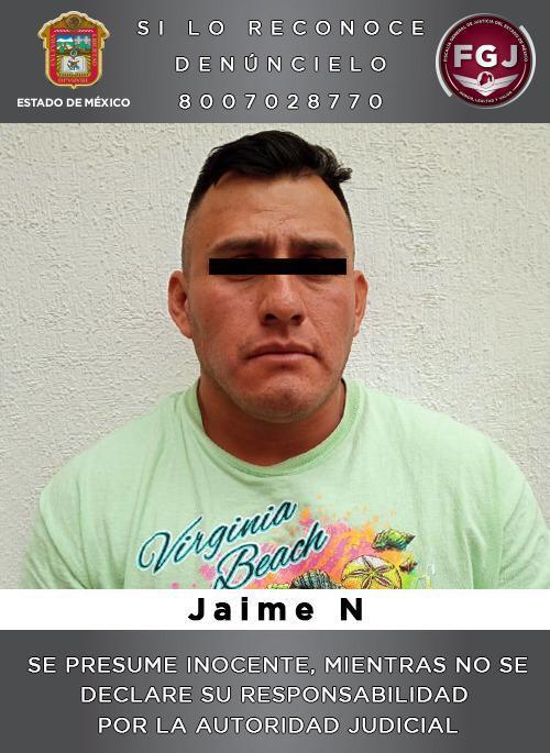 Aprehenden a sujeto que habría participado en el asalto a una camioneta de valores en Toluca.