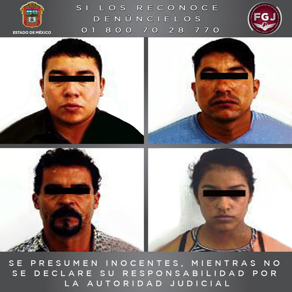 Liberan en Huehuetoca a adolescente secuestrado en el estado de guerrero y detienen a cuatro mediante operativo