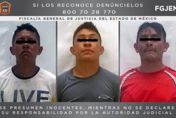 Procesan a tres probables asaltantes detenidos en Nicolás Romero