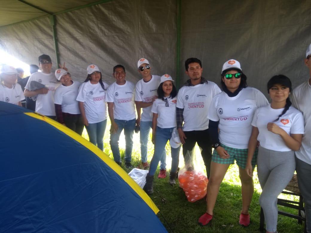 Reconocen jóvenes metepequenses atención del gobierno municipal