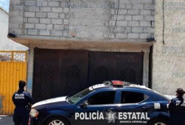 Policías de la secretaría de seguridad localizan un vehículo reportado como robado