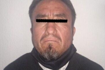 Cumplimenta FGJEM orden de aprehensión en contra de probable homicida de Tultitlán