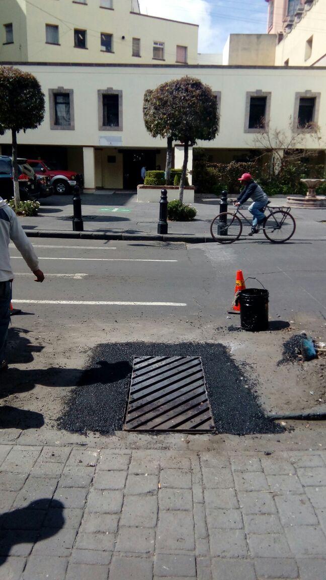 Nivela gobierno de Toluca sistema de alcantarillado en el Centro Histórico