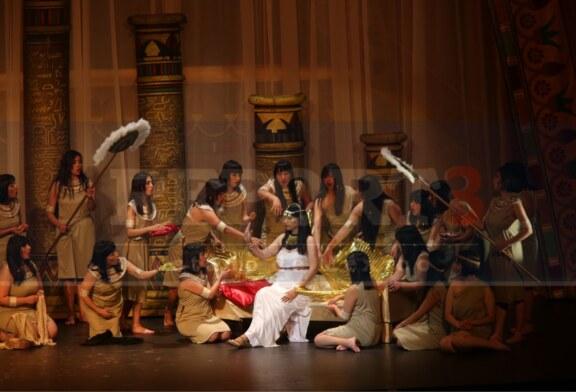 La puesta en escena de la Ópera Aída, con calidad internacional