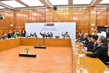 Avalan comisiones a encargados de nombrar a integrantes del comité de participación ciudadana del sistema anticorrupción