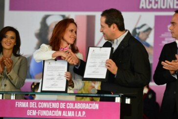Desaparece el gobierno Eruvielista un cheque por 1.5 millones para atender mujeres con cáncer