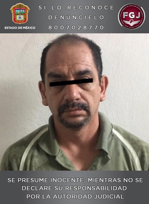 Detienen elementos de la FGJEM en Puebla a sujeto investigado por el delito de desaparición cometida por particulares en Toluca
