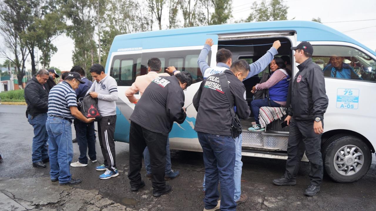 Detienen a 41 personas en primer día de operativos simultáneos en la región oriente de la entidad