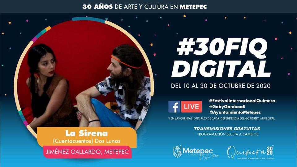 Registra festival Quimera en Metepec más de 174 mil visitas en redes sociales el primer día de transmisiones