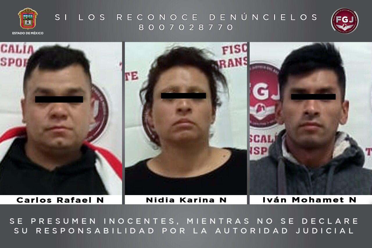 Inician proceso legal a tres personas por un asalto en transporte público en Ecatepec