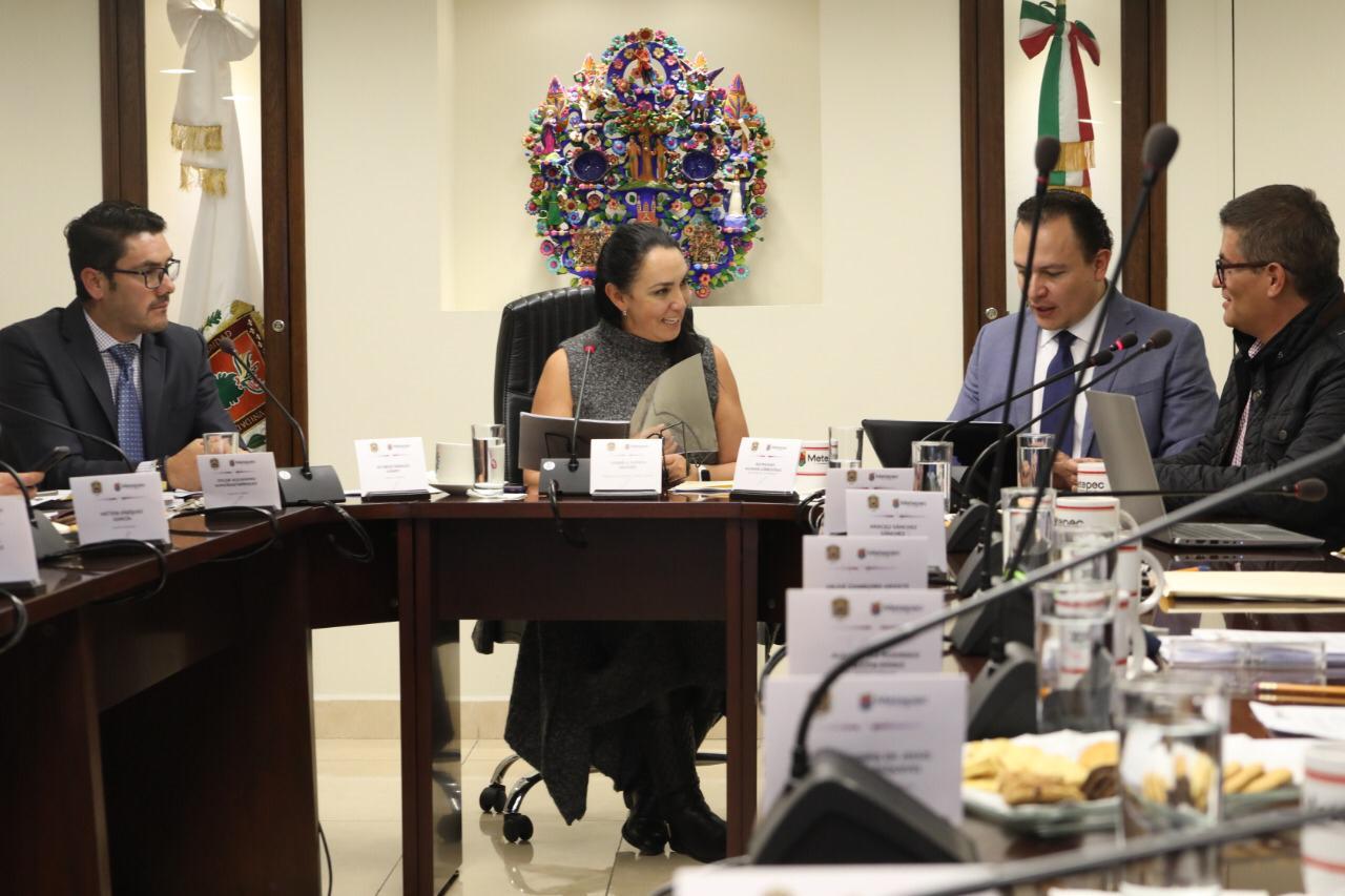 Aprueba cabildo de Metepec proyecto de presupuesto 2020