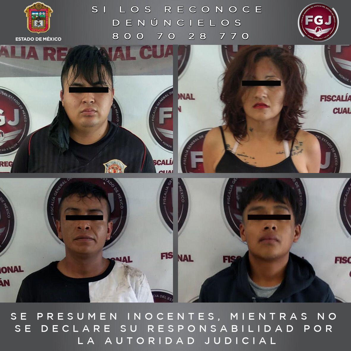 Procesan a cuatro personas por un asalto a transporte público en Cuautitlán Izcalli