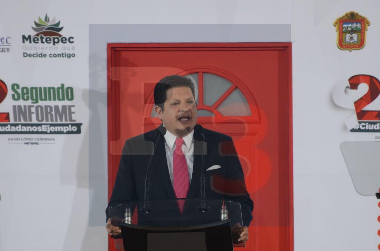 Ofrece David López llaves para que ciudadanía y gobierno sigan abriendo puertas al desarrollo.