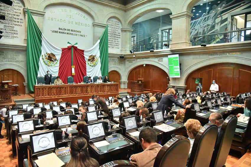 Mantendrán diputados trabajo legislativo con acciones por covid-19