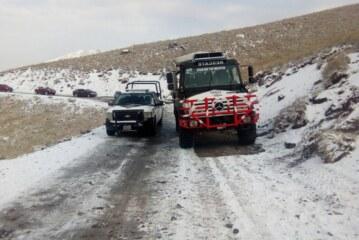 Primer caída de agua nieve  en el volcán de Toluca