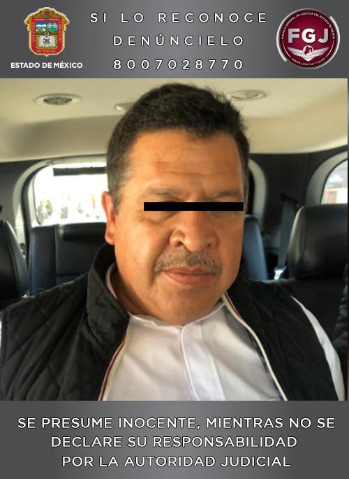 Vinculan a proceso a sujeto que se desempeñaba como alcalde de Zinacantepec.