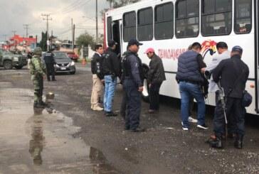 Detienen a 42 personas durante operativo simultáneo en el valle de Toluca