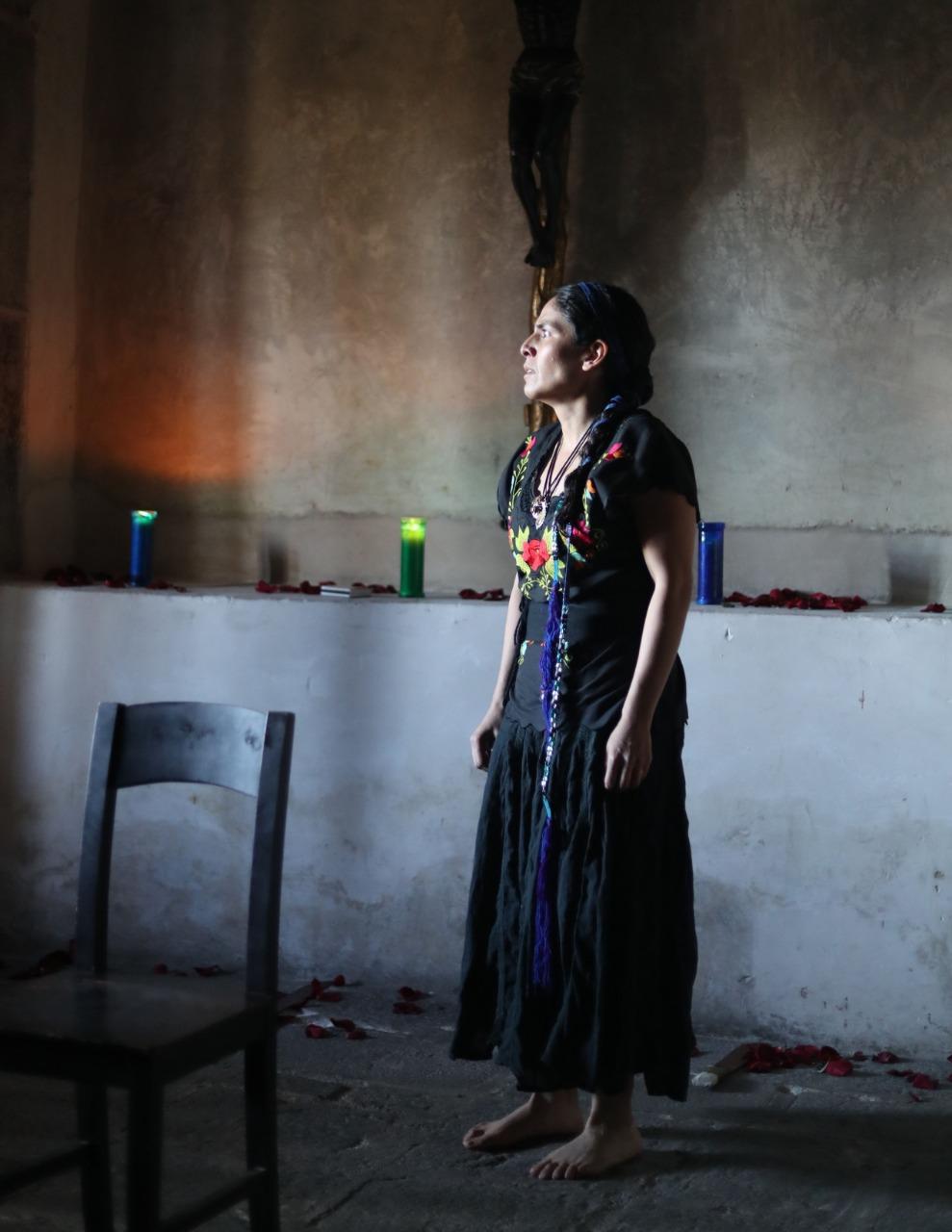 Cautiva a mexiquenses obra de teatro en el museo virreinal