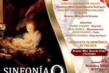 Invita la OFiT a disfrutar del XVII Magno Concierto Navideño de la Ciudad
