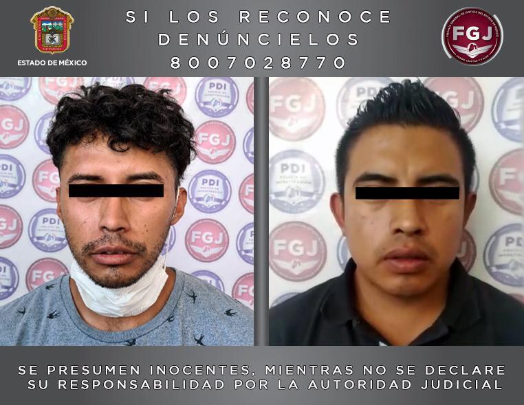 Aseguran elementos de Tultitlán a dos personas investigadas por robos con violencia