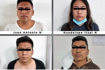 Vinculan a proceso a cuatro policías municipales de Tecámac investigados por secuestro exprés