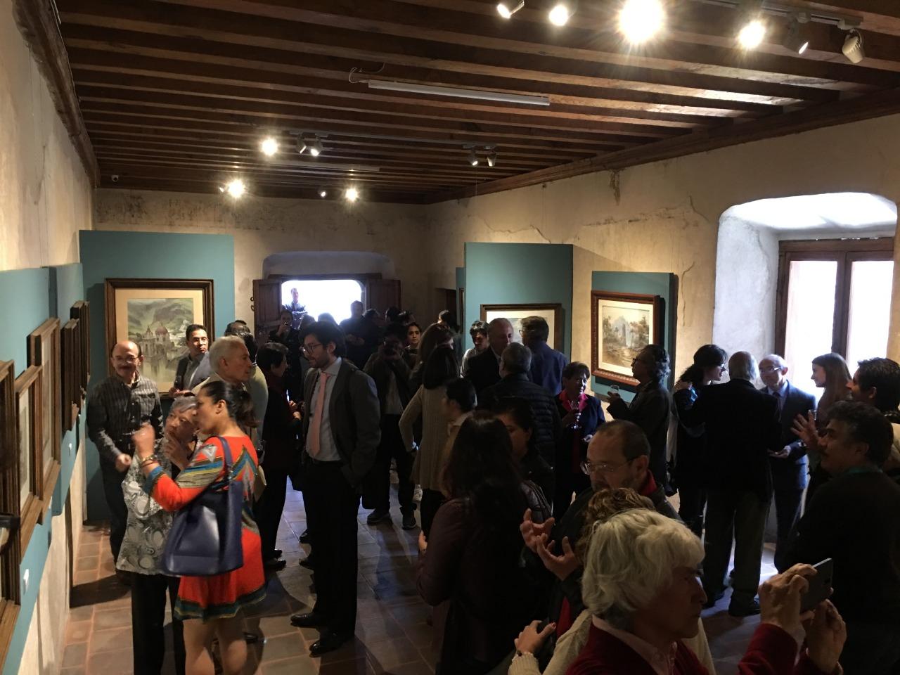 Presenta museo virreinal exposición del artista plástico Edgardo Coghlan