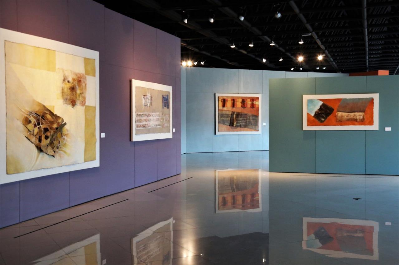 """Presenta Sergio López Orozco """"multiversos de papel"""" en museo arte galería mexiquense"""