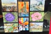Lanza asociación amigos del museo de la acuarela convocatoria arte-correo. El color se mueve, 2020