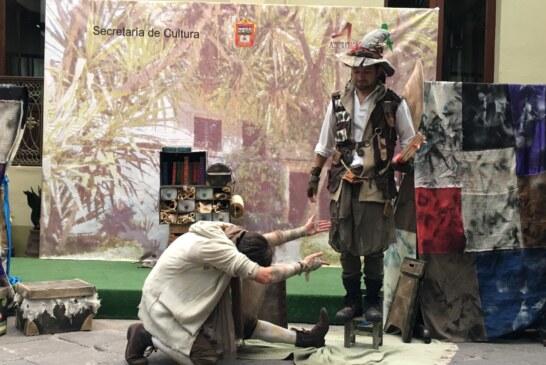 Presenta Arki. El guardacuentos obra en el museo de la acuarela