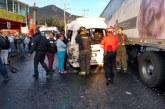 17 lesionados en accidente en la Naucalpan Toluca