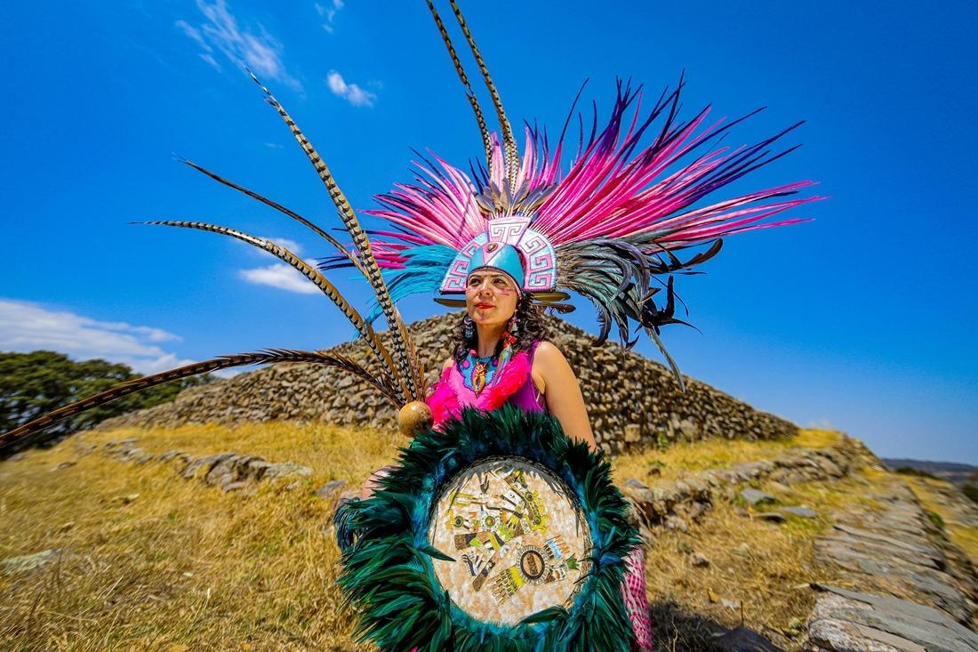 Es Huamango fiel testigo del esplendor cultural otomí