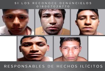 Condenan a 110 años de prisión a cinco secuestradores y homicidas