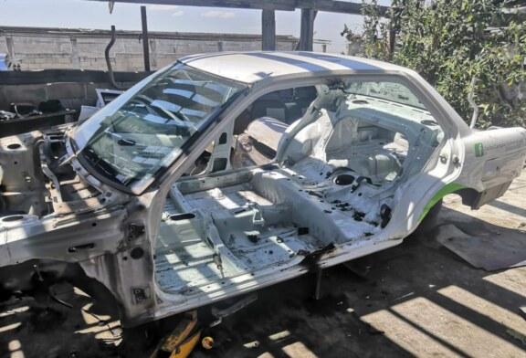 Catean un inmueble en el municipio de Lerma y recupera vehículos y autopartes con reporte de robo
