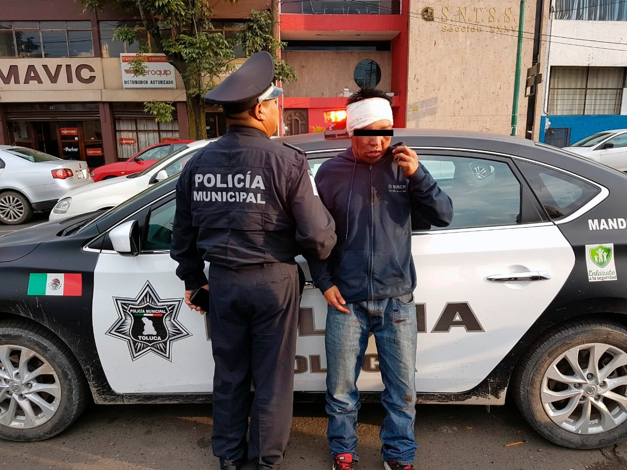 Detienen a un presunto ladrón de coches