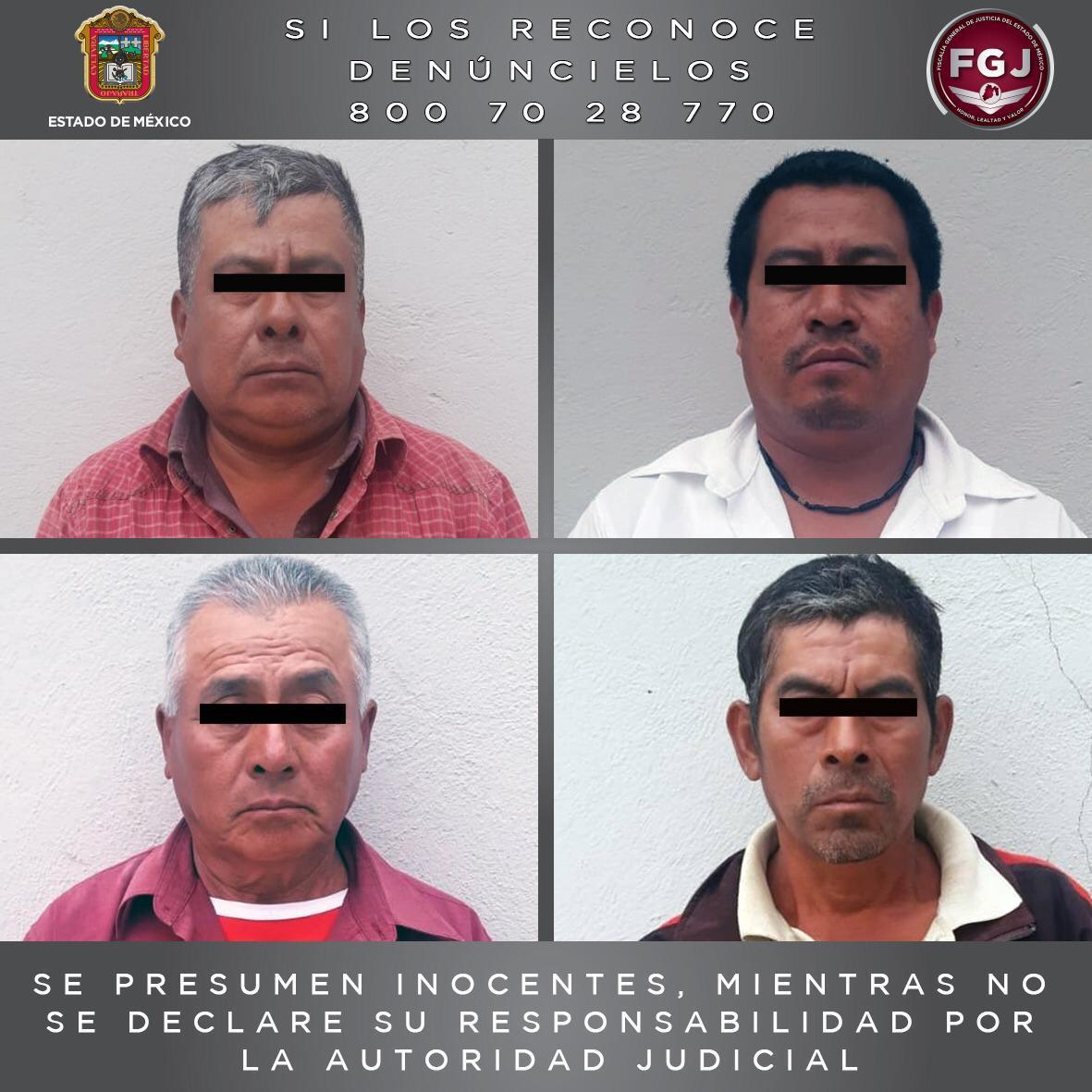 Detienen a cuatro probables asaltantes en Cuautitlán Izcalli