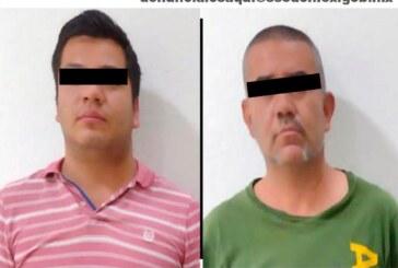 Detienen a dos hombres por el delito de encubrimiento por receptación