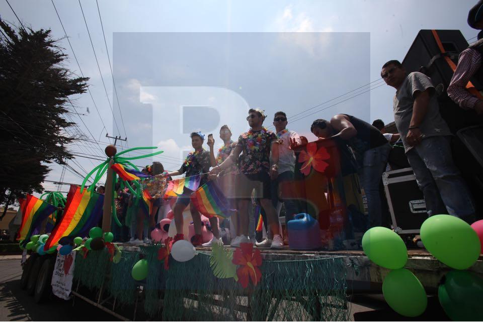Se lleva a cabo la marcha Gay en Toluca.