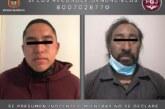 Detienen en Naucalpan a dos sujetos por robo de vehículo