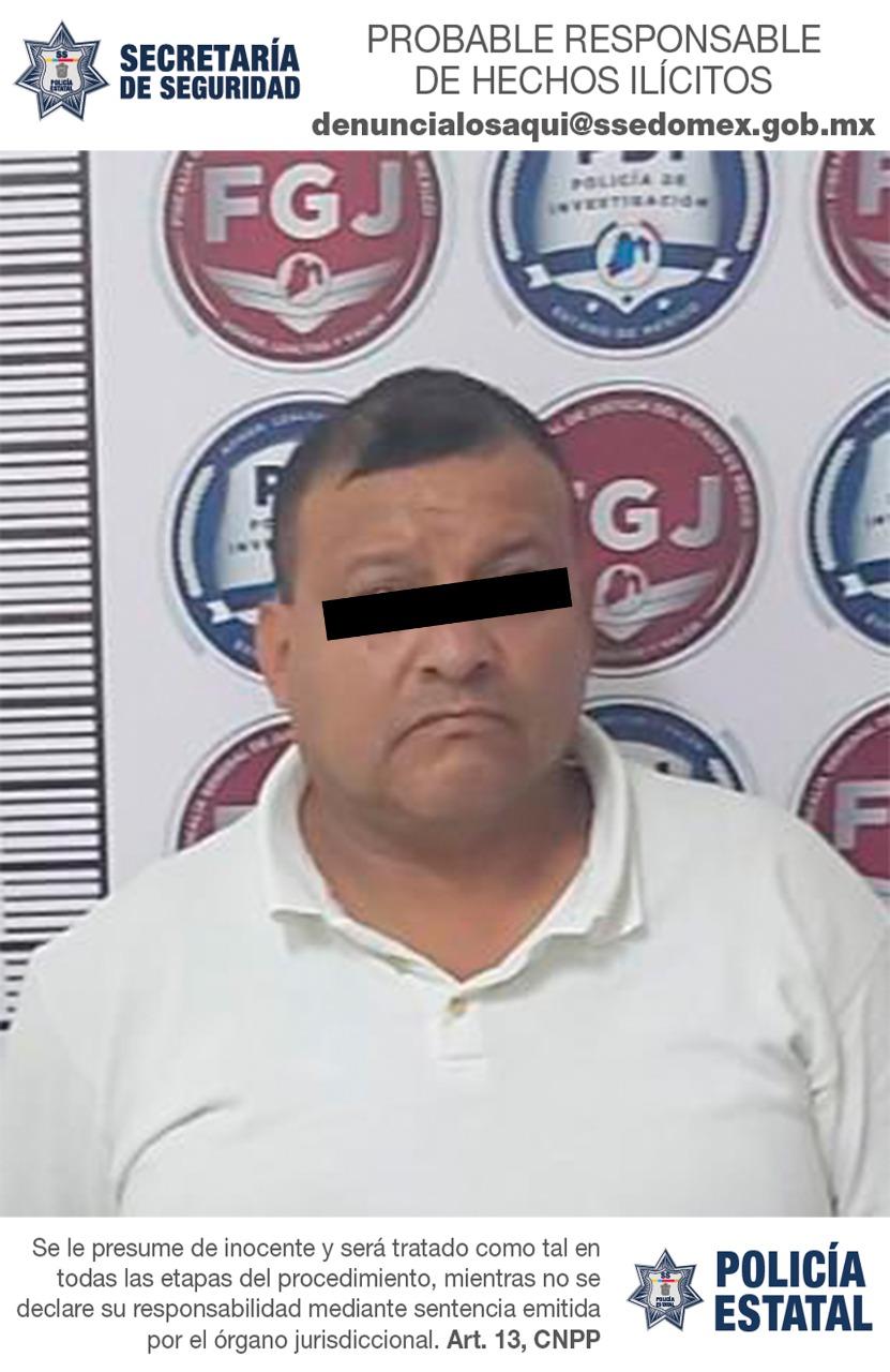 Secretaría de seguridad detiene a posible integrante de una organización delictiva dedicada al robo de vehículos de carga