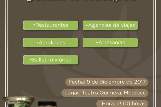 """Celebrarán primera expo gastronómica y artesanal """"descubre Metepec"""""""