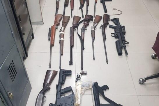 Catea FGJEM un inmueble en Tecámac en donde fueron localizadas 26 armas de fuego y más de 7 mil cartuchos útiles de diversos calibres