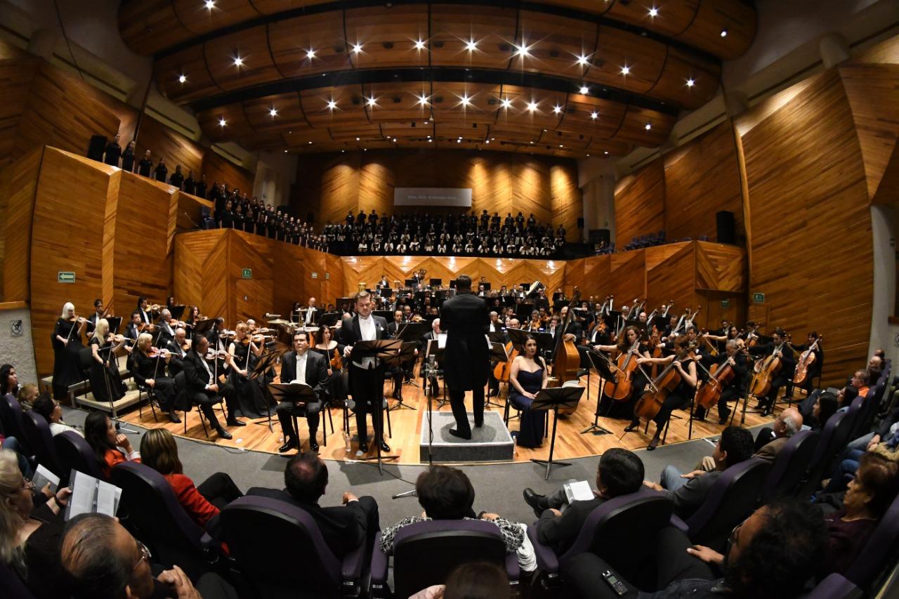 Cierra OSEM su temporada de conciertos 140 en Bellas Artes